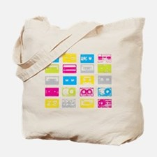 80's Cassettes Tote Bag