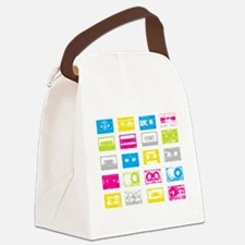 80's Cassettes Canvas Lunch Bag