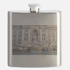 Trevi Fountain Flask