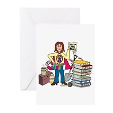 """A Super Advocate"" Greeting Cards (Pk of 10)"