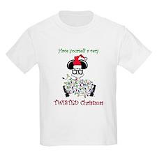 Twisted Christmas Kids T-Shirt