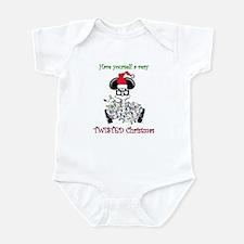 Twisted Christmas Infant Bodysuit