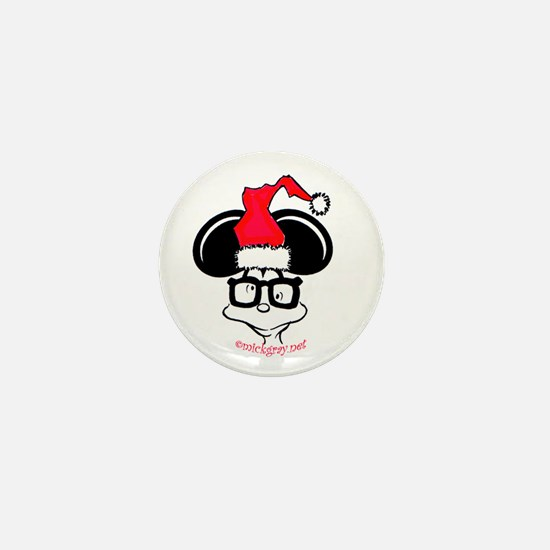Twisted Christmas Mini Button