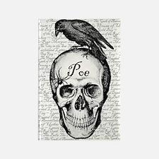 Raven Poe Rectangle Magnet