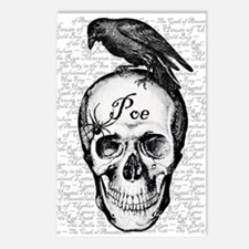 Raven Poe Postcards (Package of 8)