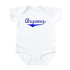 Aryana Vintage (Blue) Infant Bodysuit