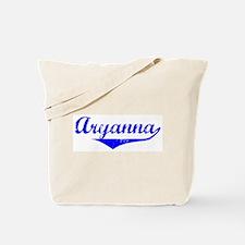 Aryanna Vintage (Blue) Tote Bag