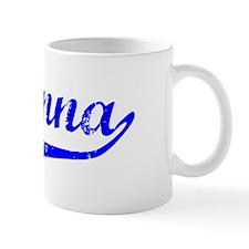 Aryanna Vintage (Blue) Coffee Mug