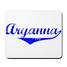 Aryanna Vintage (Blue) Mousepad