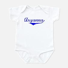Aryanna Vintage (Blue) Infant Bodysuit