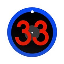 33rpm Ornament (Round)