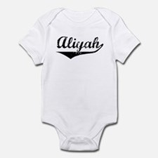 Aliyah Vintage (Black) Infant Bodysuit