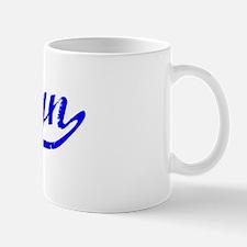 Ashlyn Vintage (Blue) Mug