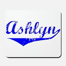 Ashlyn Vintage (Blue) Mousepad
