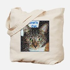 Seurat's Cat Tote Bag