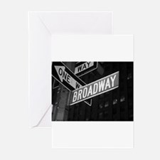 broadway4 Greeting Cards