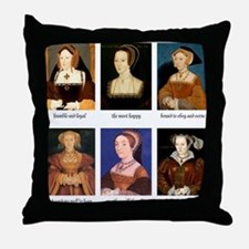 Cute Catherine Throw Pillow
