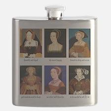 Unique Henry viii Flask