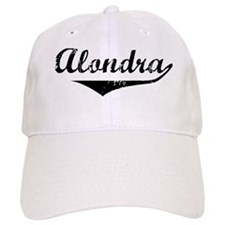 Alondra Vintage (Black) Baseball Cap