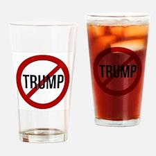 Stop Trump Drinking Glass