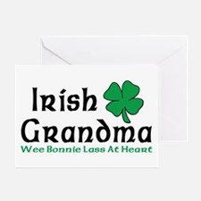 Irish Grandma Greeting Card