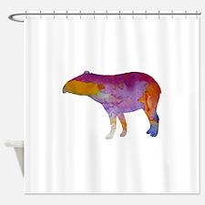 Tapir Shower Curtain