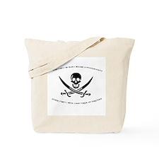 Pirating Psychologist Tote Bag