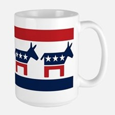 Donkeys - Democratic Party Large Mug