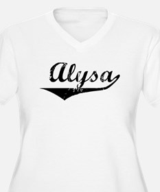 Alysa Vintage (Black) T-Shirt