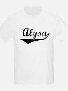 Alysa Vintage (Black) T-Shirt