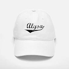 Alysa Vintage (Black) Baseball Baseball Cap