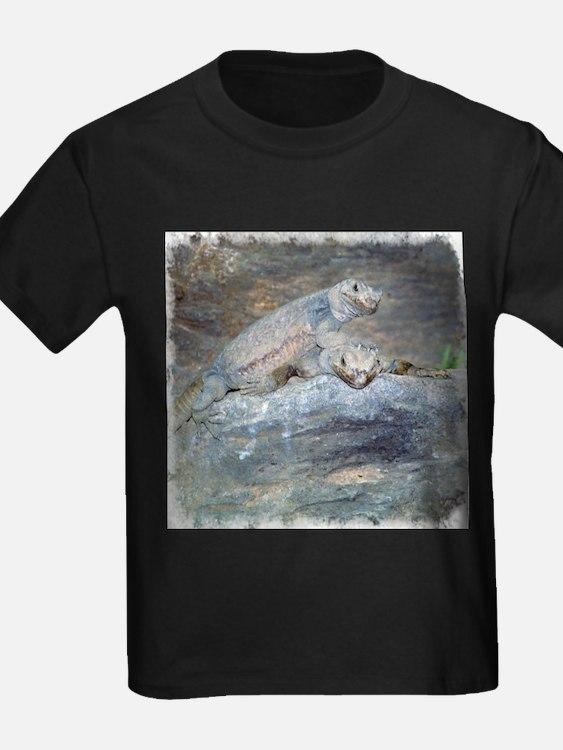 Chuckwalla Head Stand Ash Grey T-Shirt