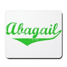 Abagail Vintage (Green) Mousepad