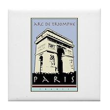 Paris, Arc de Triomphe Tile Coaster
