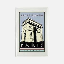 Paris, Arc de Triomphe Rectangle Magnet (10 pack)