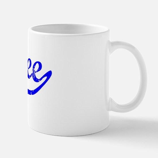 Aubree Vintage (Blue) Mug