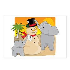 Sahara Christmas Postcards (Package of 8)