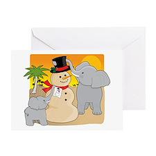 Sahara Christmas Greeting Card