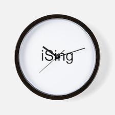 iSing Wall Clock