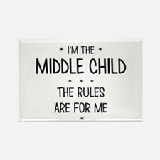 MIDDLE CHILD 3 Magnets