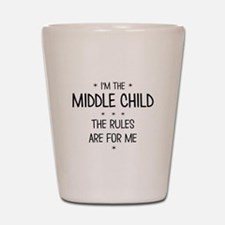 MIDDLE CHILD 3 Shot Glass