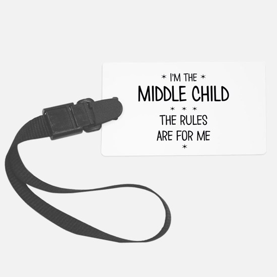 MIDDLE CHILD 3 Luggage Tag