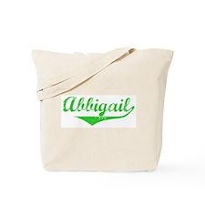 Abbigail Vintage (Green) Tote Bag
