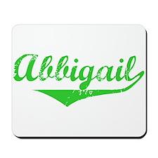 Abbigail Vintage (Green) Mousepad