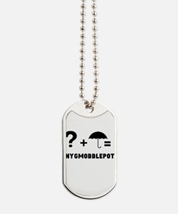 +Nygmobblepot Dog Tags