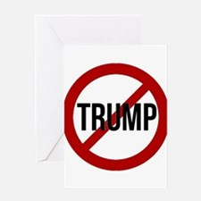 Stop Trump Greeting Cards