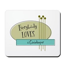 Everybody Loves a Gamekeeper Mousepad