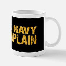 U.S. Navy: Chaplain (Black & Gold) Mug