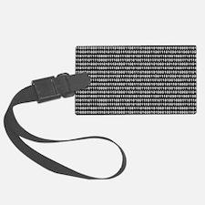 Binary Code 010 DOS Luggage Tag