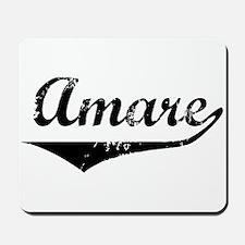 Amare Vintage (Black) Mousepad
